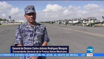 Listo Espectáculo Aéreo Santa Lucía