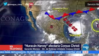 Declaran Emergencia Texas Huracán Harvey