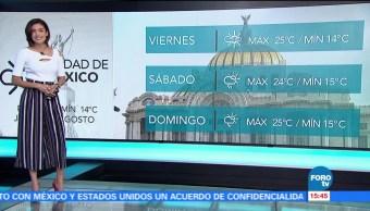 Clima A las Tres Daniela Álvarez