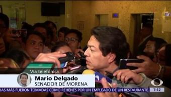 Mario Delgado acepta resultado encuesta Morena