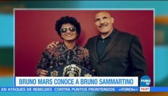 Bruno Mars conoce a Bruno Sammartino