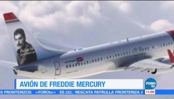 Aerolínea dedicará avión a Freddie Mercury