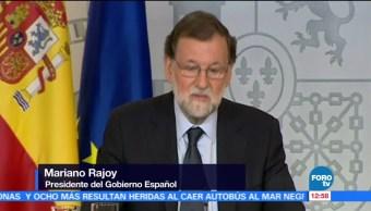 Rajoy Unión Europea mecanismos colaboración antiterrorista