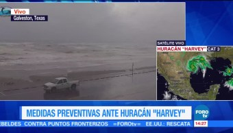 Harvey Evoluciona Huracan Categoria Costas De Texas Estados Unidos