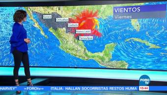 Clima Tres Daniela Alvarez Huracán Harvey Categoria Golfo De Mexico
