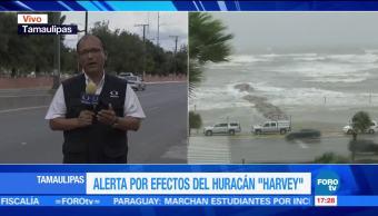Tamaulipas Alerta Huracan Harvey Autoridades Tamaulipas