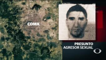 Buscan a violador serial en el sur de la CDMX