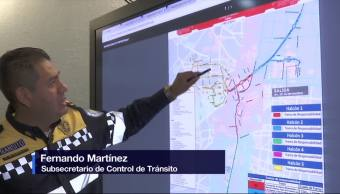 Realizarán cortes viales por maratón de la Ciudad de México