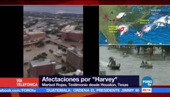 No queremos entrar en pánico dice testimonio desde Houston