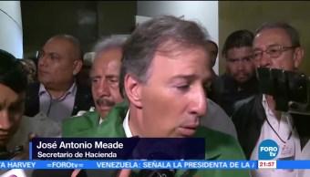 Hacienda trabaja en paquete económico 2018, dice secretario Meade