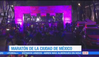 Se realiza la edición del Maratón de la Ciudad de México