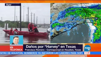 Lluvias, ocasionadas, Harvey, Houston
