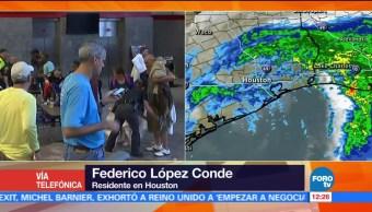 calles, ríos, lluvia, Houston