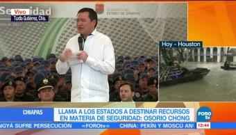 Osorio Chong, encabeza, entrega, patrullas