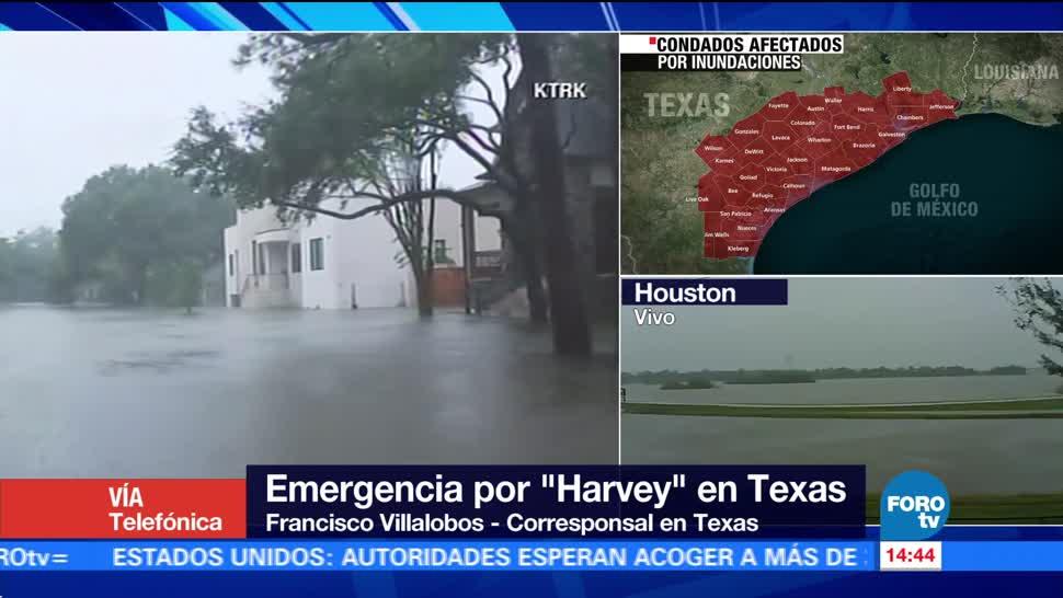 Harvey Afectados Texas Huracán Harvey Estados Unidos