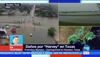 Continuan Lluvias Paso Harvey Texas Eu