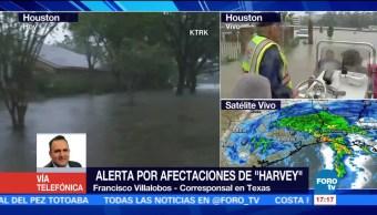 Alerta Afectaciones Harvey Texas Francisco Villalobos Corresponsal En Texas