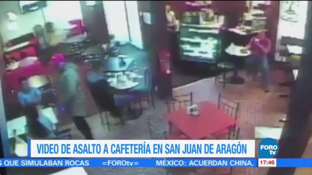 Video Asalto Cafeteria Gam Imagenes San Juan de Aragon