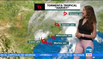 Clima Mayte Carranco Desplazamiento Lento Tormenta Tropical Harvey