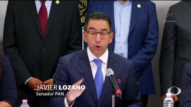 Senadores PAN no respaldan declaraciones Anaya