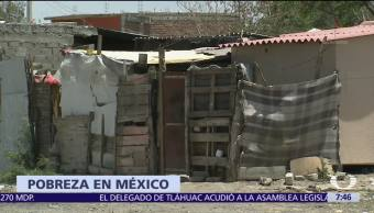 Coneval, cifras, pobreza, México