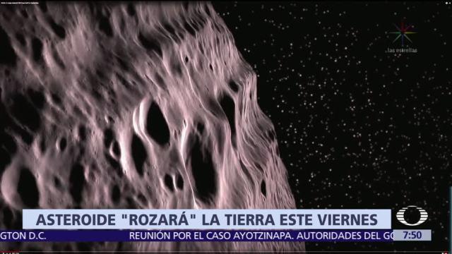 Asteroide, pasará, cerca, Tierra
