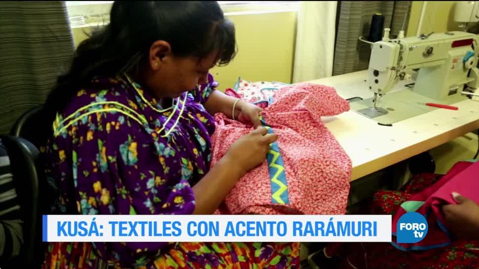 Taller Kusá Mujeres rarámuris textiles artesanales