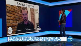 Genaro Lozano entrevista a Brendan O'Boyle