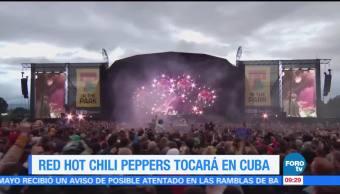 Red Hot Chili Pepper TocaráC Cuba
