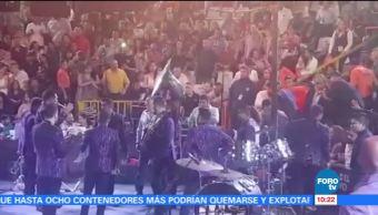 Suspenden, concierto, Banda, MS