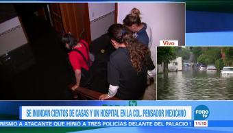Inunda Casas Hospital Pensador mexicano