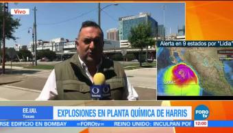 Descartan, explosiones, planta química, Texas