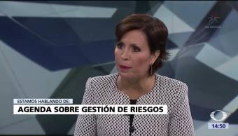 Rosario Robles destaca importancia gestión riesgos