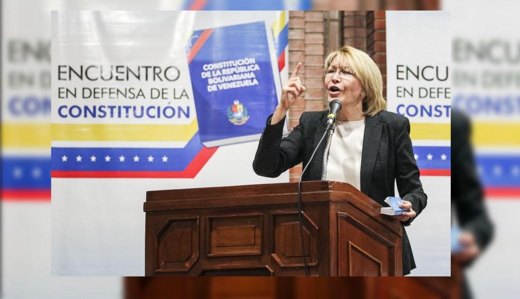 Sigo siendo la fiscal general de Venezuela, señala Luisa Ortega