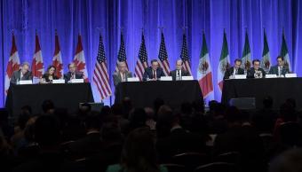 Concluye primera ronda de renegociaciones del TLCAN en Estados Unidos