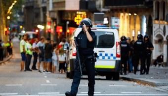 Autor de atentado en Barcelona habría sido abatido en Cambrils
