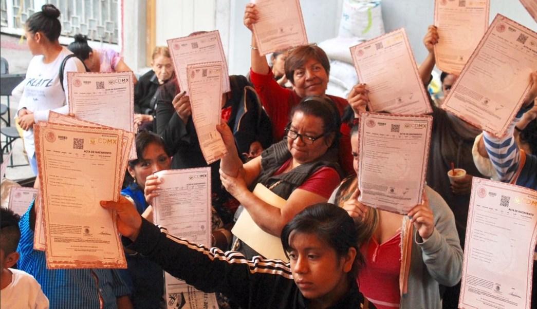 Registro Civil no puede cobrar primera acta nacimiento