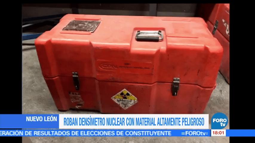Alerta robo fuente radioactiva en NL
