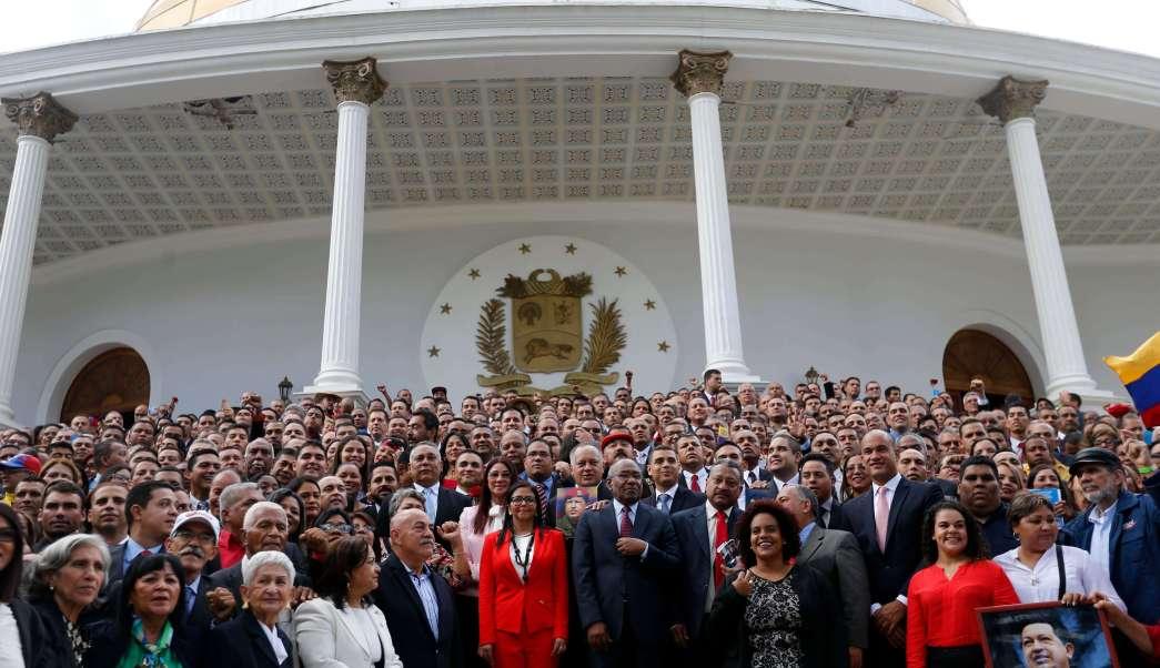Asamblea Nacional Constituyente venezolana celebra primera sesión