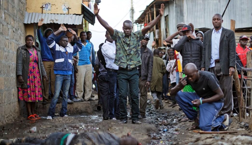 Mueren dos manifestantes por disparos de la Policía en protesta en Nairobi