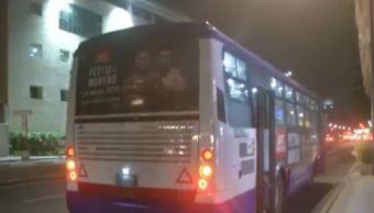 asaltan camion en avenida chapultepec cdmx