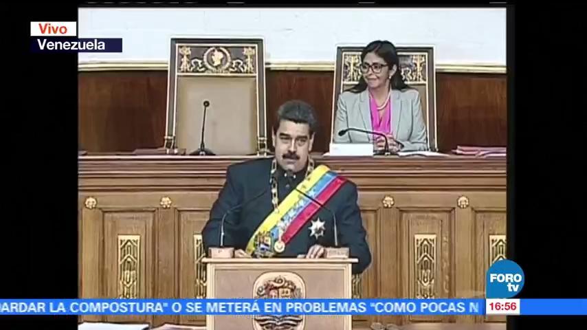 Asamblea Constituyente nació hacer paz Maduro