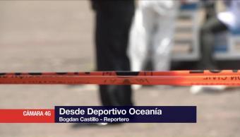 Asesinan Joven Dentro Deportivo Oceanía Cdmx