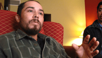 Audemio Orozco Ramírez durante una entrevista en 2013