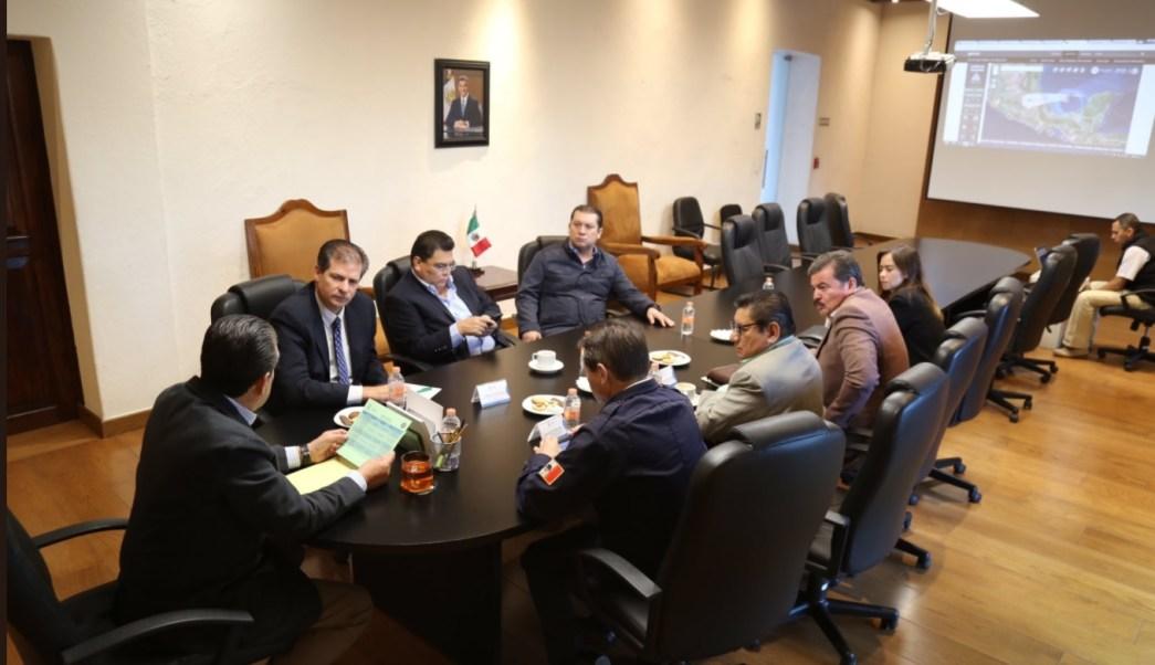 Autoridades de Puebla se preparan ante franklin