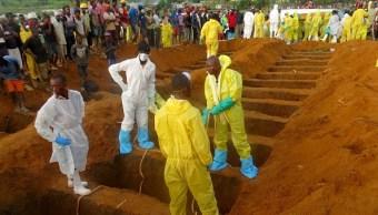 autoridades de sierra leona entierra a varios cuerpos
