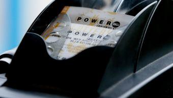 Boleto de Powerball, lotería estadounidense con una bolsa de 758 mdd