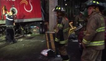 bomberos buscan menor que cayo coladera alvaro obregon