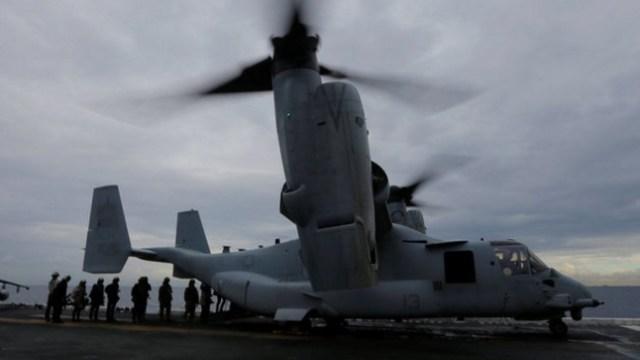 EU inicia búsqueda de marines desaparecidos tras percance en Australia