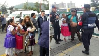 Violan a niña de 9 años en el metro Martín Carrera